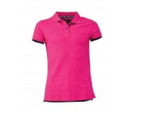 Maindeck Ladies Polo Shirt Pink XS